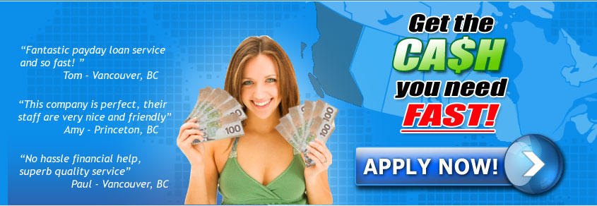 Christina Lake BC Payday Loan